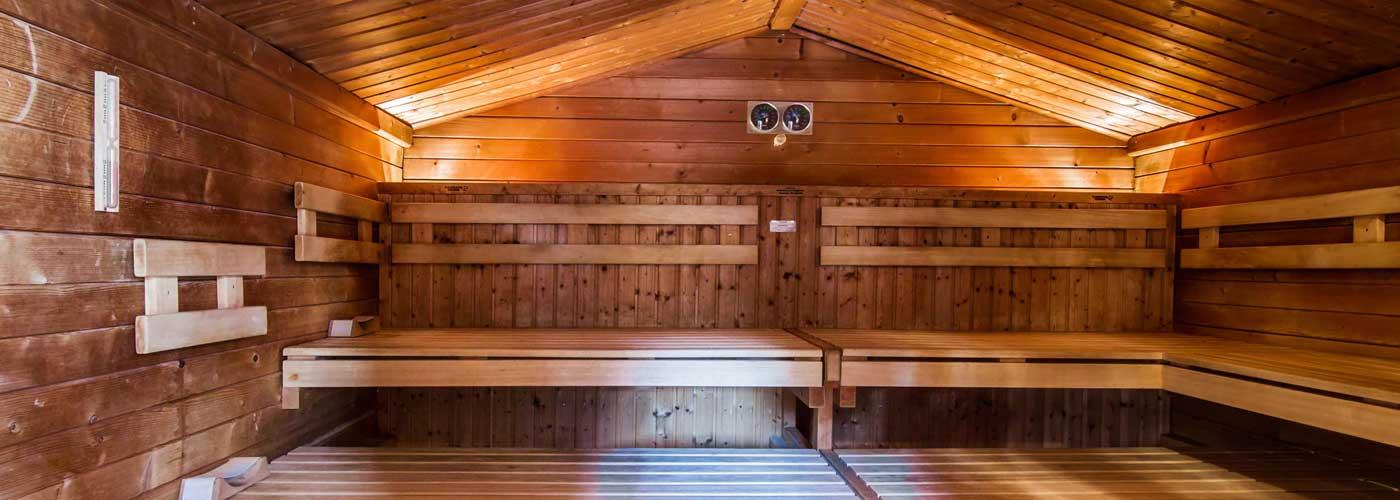 bad sauna. Black Bedroom Furniture Sets. Home Design Ideas